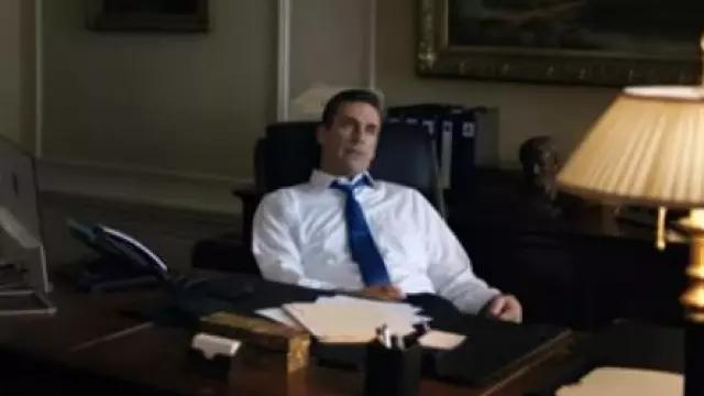 White Shirt worn by Jon Hamm in THE REPORT Trailer (2019) Adam Driver, Amazon Prime Drama Series