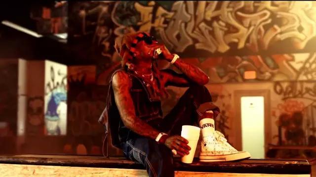 The converse x JW Anderson Lil Wayne on Swizz Beatz - Pistol On My Side (P. O. M. S) ft. Lil Wayne